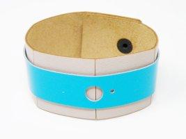 """Damen Armband  Leder blau  handgemacht von """"MODO""""       NEU"""