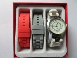 Damen-Armbanduhr mit Wechselbändern
