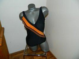 Biaggini Costume da bagno nero-arancione Poliammide