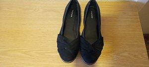 Damen Balleriner Samt Schuhe Gr.40