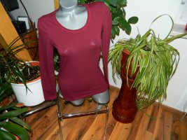 Janina Longsleeve brown red cotton