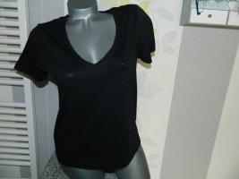 Zara T-shirt nero Cotone
