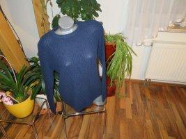 C&A Basics Knitted Sweater dark blue cotton