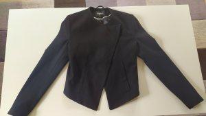 Tigha Blazer in lana nero