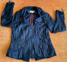 Damen Blazer Lagenlook Jacke Gr.42 in Schwarz von Biba