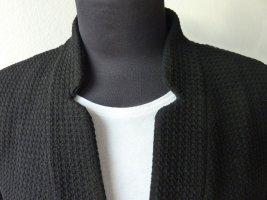 Armani Klassischer Blazer black cotton