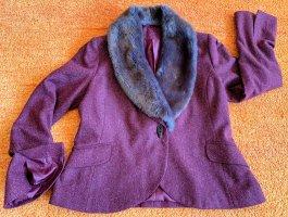 H&M Wool Blazer carmine wool