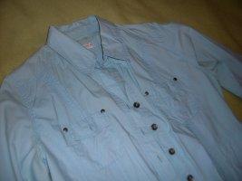 Bonita Camicia blusa azzurro Cotone