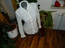 Esprit Kreukelblouse wit Katoen