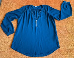 Damen Bluse Raffungen Gr.XL in Petrol von Pimkie