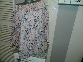 Laura Torelli Carmen Blouse pink-dusky pink polyester