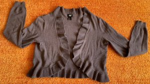 H&M Knitted Bolero brown