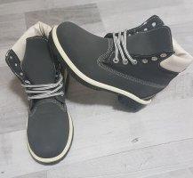 Botas de tobillo azul oscuro