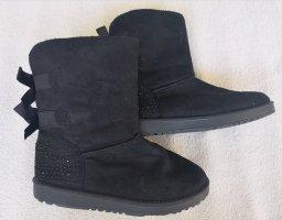 Botas de nieve negro