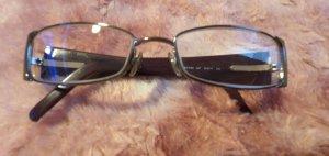 D&G Hoekige zonnebril zandig bruin