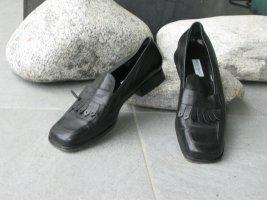 Bruno Magli Pantofel czarny Skóra