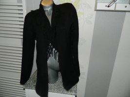 Boysen's Gebreide cardigan zwart Katoen