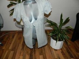 Arizona Cardigan tricotés gris coton