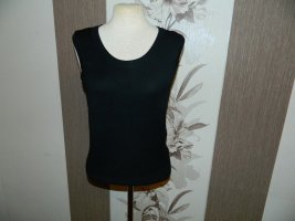 H&M Knitted Top black viscose