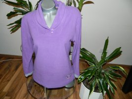 Francoise Saget Pull polaire lilas-violet polyester