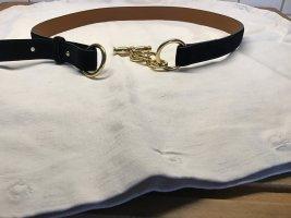 Lauren by Ralph Lauren Leather Belt black leather