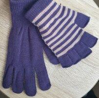 Damen Handschuhe fein 2 Stück Fingerlos und normal