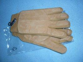 markenlos Padded Gloves light brown polyester