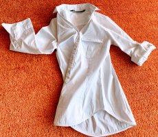 Damen Hemd Business Bluse Gr.XS in Weiß von Zara Basic