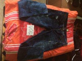 Jeans flare bleu