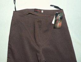 Pantalone Capri marrone Poliestere