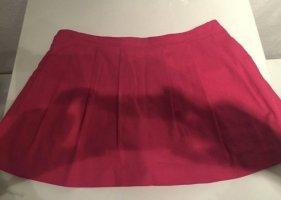 Falda pantalón rojo frambuesa-rosa