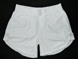 Orsay Hot pants bianco Cotone