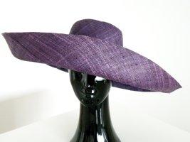 Kapelusz przeciwsłoneczny niebiesko-fioletowy-ciemny fiolet