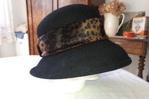Unbekannte Marke Wollen hoed veelkleurig Wol