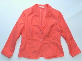 Damen Jacke Blazer von Sommermann Gr. 40 / M Sommerjacke Leinen wie neuwertig Sakko