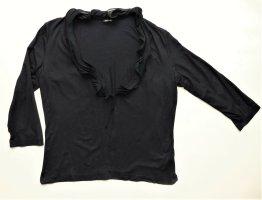 Damen Jacke Cardigan Garry Weber Gr. 40 / M schwarz blau sehr guter Zustand Tunika