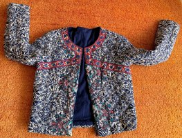 Quilted Jacket neon blue-neon red