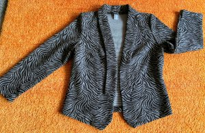 Ambria Jersey Blazer black-grey cotton