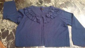 Damen Jacke Strick Bolero süß Gr.40 in Blau von VERO MODA
