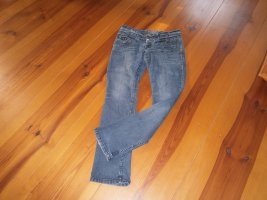 okay Boot Cut Jeans steel blue cotton