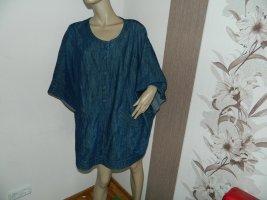 Damen Jeans Poncho Überwurf Cape Größe 58/60/62/64 von Ulla Popken (A19)