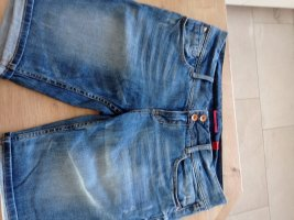 s.Oliver Pantaloncino di jeans blu