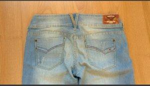 Damen-Jeans, Tommy Hilfiger, NEU, hellblau, Bootcut, slim fit, used, W 30 L 30