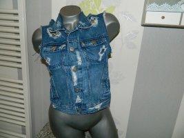 Damen Jeans Weste Größe 36 von H&M (Nr1014)