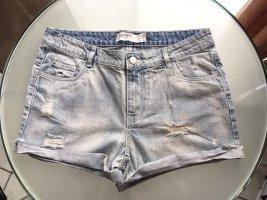 Damen Jeanshose Shorts mit Fransen in größe 38 Janina **neu**