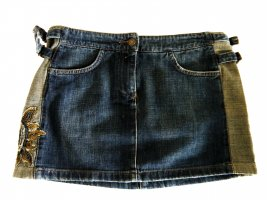 Jeansowa spódnica ciemnoniebieski