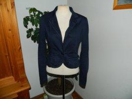 Guess Blazer in jeans blu scuro Cotone