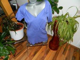 Vivien Caron Short Sleeve Sweater lilac viscose