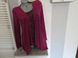 Damen langarm Shirt Doppeloptik Größe S von Basic Style (Nr1644)