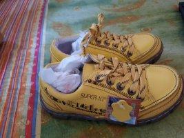 Damen Leder Freizeit Halbschuhe Schuhe Sneakers Gr. 36 Neu